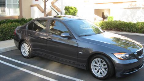 Photo #2: luxury sedan: 2006 BMW 325 (Charcoal Gray)