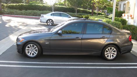 Photo #1: luxury sedan: 2006 BMW 325 (Charcoal Gray)