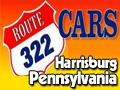 Route 322 Cars Logo