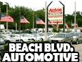 Beach Blvd. Automotive Logo