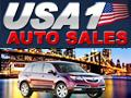 USA 1 Auto Sales Logo