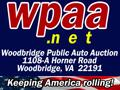 Woodbridge Public Auto Auction Logo