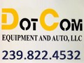 DotCom Equipment And Auto LLC Logo
