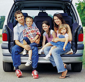 Choosing the best car for your family isn't an easy task because it has to be more than a simple vehicle.