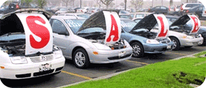 used car dealer sale