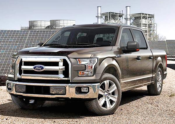 Ford F-150 2015 Brown