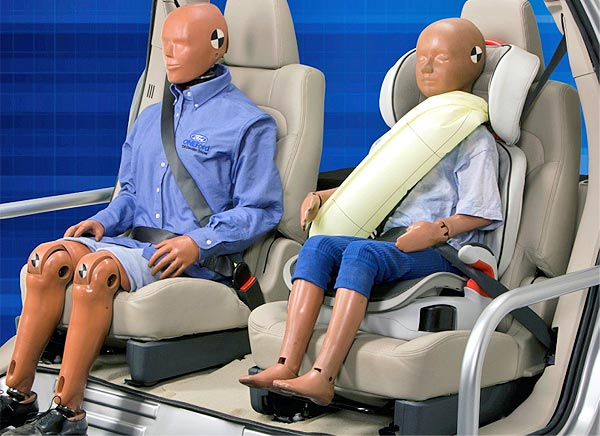 inflatable seat-belts safety system